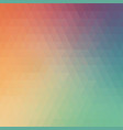 colorful abstract design geometric background vector image vector image