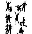 dance people vector image