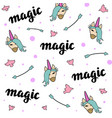 i just do believe in magic vector image