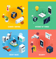 smart home concept icons set vector image vector image