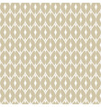 subtle geometric golden seamless pattern mesh net vector image