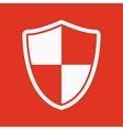The shield icon Security and safety firewall vector image vector image