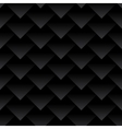 Carbon fiber triangles background Dragon skin vector image