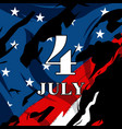 4 july vector image vector image