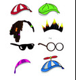 character accessory vector image vector image