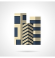 Floor carpets flat color icon vector image vector image