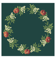 Floral wreath vector | Price: 1 Credit (USD $1)