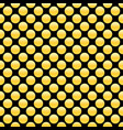 golden dots seamless pattern abstract geometric vector image vector image