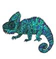 Hand-drawn chameleon