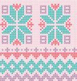 knitted background Scandinavian style vector image