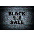 TV commercial black friday sale vector image vector image