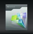 Presentation Architecture of poster flyer design vector image