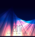 abstract shiny background for 2017 happy new year vector image vector image
