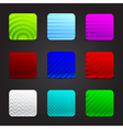 conceptual colorful squares vector image