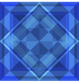 Geometric Blue Background vector image vector image
