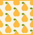 pear pattern vector image vector image