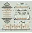 Set of decorative calligraphic elements vector | Price: 1 Credit (USD $1)