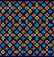 traditional ornamental pattern seamless abstract vector image