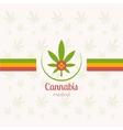 Cannabis Medical vector image