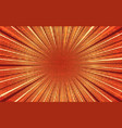 bright orange and red exploding comic background vector image
