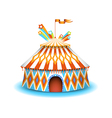Colorful circus vector image vector image
