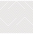 geometric seamless pattern white and gray texture vector image vector image