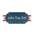 Labor Day Sale festive paper Banner vector image