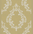 luxury ornamented pattern royal texture vector image vector image