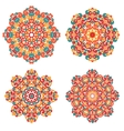 Mandalas in oriental style Ethnic patterns vector image vector image