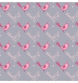 Seamless texture with birds vector image vector image