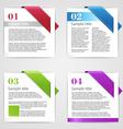 set design elements vector image vector image