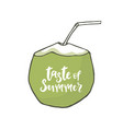 taste of summer vector image vector image