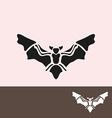 bat symbol vector image vector image