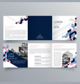 brochure design 559 vector image vector image
