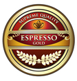 Espresso Red Label vector image vector image