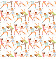 figure ice skater women beauty sport girls vector image vector image