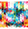 Multi-color geometric triangular low poly low poly