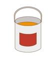 paint bucket tool vector image vector image