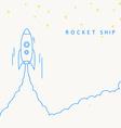 Rocket launch icon eps 10