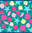 seamless abstract sea background vector image