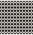 Seamless Black And White Hexagon Grid vector image vector image