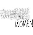 women of modern era text word cloud concept vector image vector image