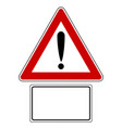 attention sign with optional label