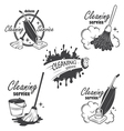Cleaning service vector image vector image