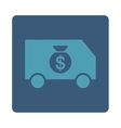 Collector Car Icon from Commerce Buttons OverColor vector image