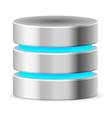 Data base icon vector image