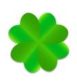 Four-leaf Green Clover vector image