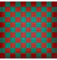 Grunge chessboard background vector image