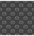 Mail seamless texture vector image vector image
