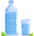 pure water vector image vector image